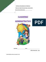 agenda administrativa