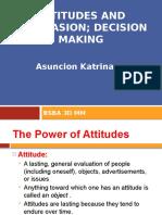 Attitude and Persuasion