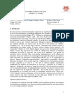 Informe Labortario BIO Método Científico