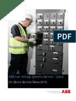 QAABB LP Service Rates - 2015