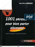 1001 Phrases Allemand