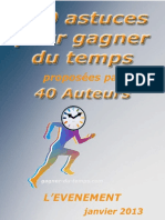 120 Astuces Pour Gagner Du Temps Coach Relax