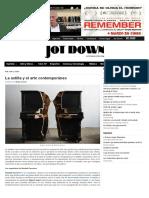 La Astilla y El Arte Contemporáneo - Jot Down Cultural Magazine