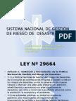 01.Sistema Nacional de Gestión de Riesgos de Desastres