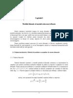 Modelul dinamic al masinii asincrone