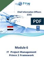 Module 6 Project Management Prince 2