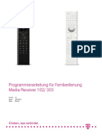 Programmieranleitung Fuer Fernbedienung Mr 102 303