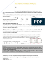 G485 Fields, Particles and the Fronteirs of Physics (Draft- see the more recent upload for the updated version) ; Robbie Peck