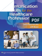 Communication Skills for the Healthcare Professional - CD (1)