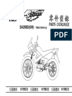 Kymco Stryker 125 Parts Catalogue