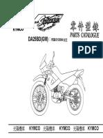 Kymco Stryker 125 Parts Catalogue