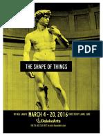The Shape of Things Program