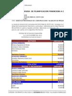 Practica de Planificacion Financiera a Corto