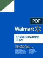 Walmart Communications Plan