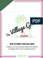 Village Grill Final Report