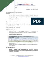 Cotización Servicios de Inspección, Evaluación y Análisis de Fallas -HLC. ACP-01-2015