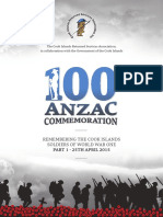 Cook Island Soldiers - 100 Year Commemoration
