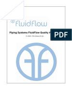 QA Piping Systems FluidFlow