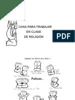 Fichas de Religion Para Trabajar