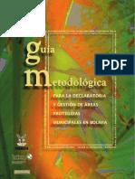Guía Metodológica Para La Gestión de Áreas Protegidas en Bolivia