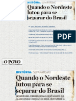 Separatismo Do Nordeste Do Brasil