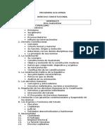 Guía Programática Derecho Constitucional