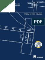 Tabelas Pre-dimensionamento Gerdau