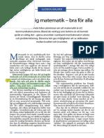 Malmer Gudrun-Mer Muntlig Matematik-bra För Alla