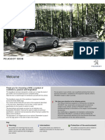 Peugeot 5008 english user manual