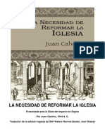 La Necesidad de Reformar La Iglesia-Juan Calvino