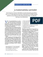 Karin Bengtsson-Det Goda Matematiska Samtalet