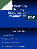 1.1 Origen Petroleo