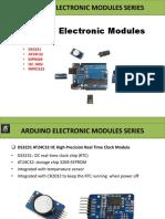 Arduino Electronic Modules DS3231_ AT24C32_ I2C1602_ MFRC522_ ESP8266 - Jie Deng