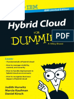 Ibm-2284-Hybrid Cloud for Dummies
