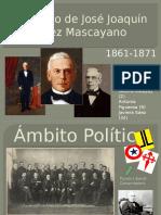 Gobierno de José Joaquín Pérez Mascayano