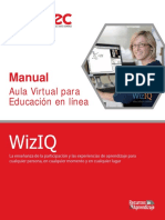 Manual Wiziq