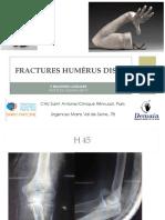 Cas Cliniques Fracture Humerus Distal