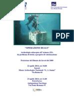 """""""Operazione Reale"""" Archeologia subacquea all'Asinara (SS)"""