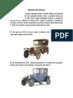 Historia Citroen