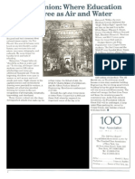 100 Year Association article