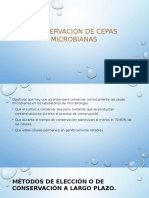 Conservación de Cepas Microbianas