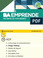Encuentro 2 Design Thinking