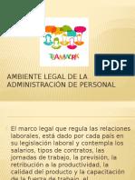 Ambiente Legal de La Administración de Personal