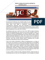 ABCES Sustancias Quimicas Controladas (1)