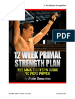 12 Week Primal Strength Plan