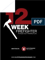 12 Week Fire Fighter Fitness (Bonus)