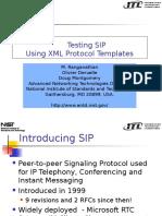 3 Testing SIP