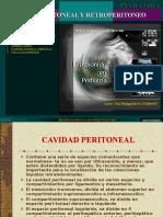 ECOGRAFÍA DE LA Cavidad Peritoneal y Retroperitoneo