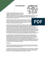 8- La Cohesión y La Coherencia Textuales