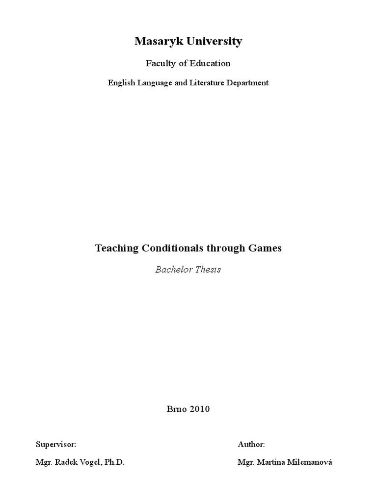 thesis in english language teaching
